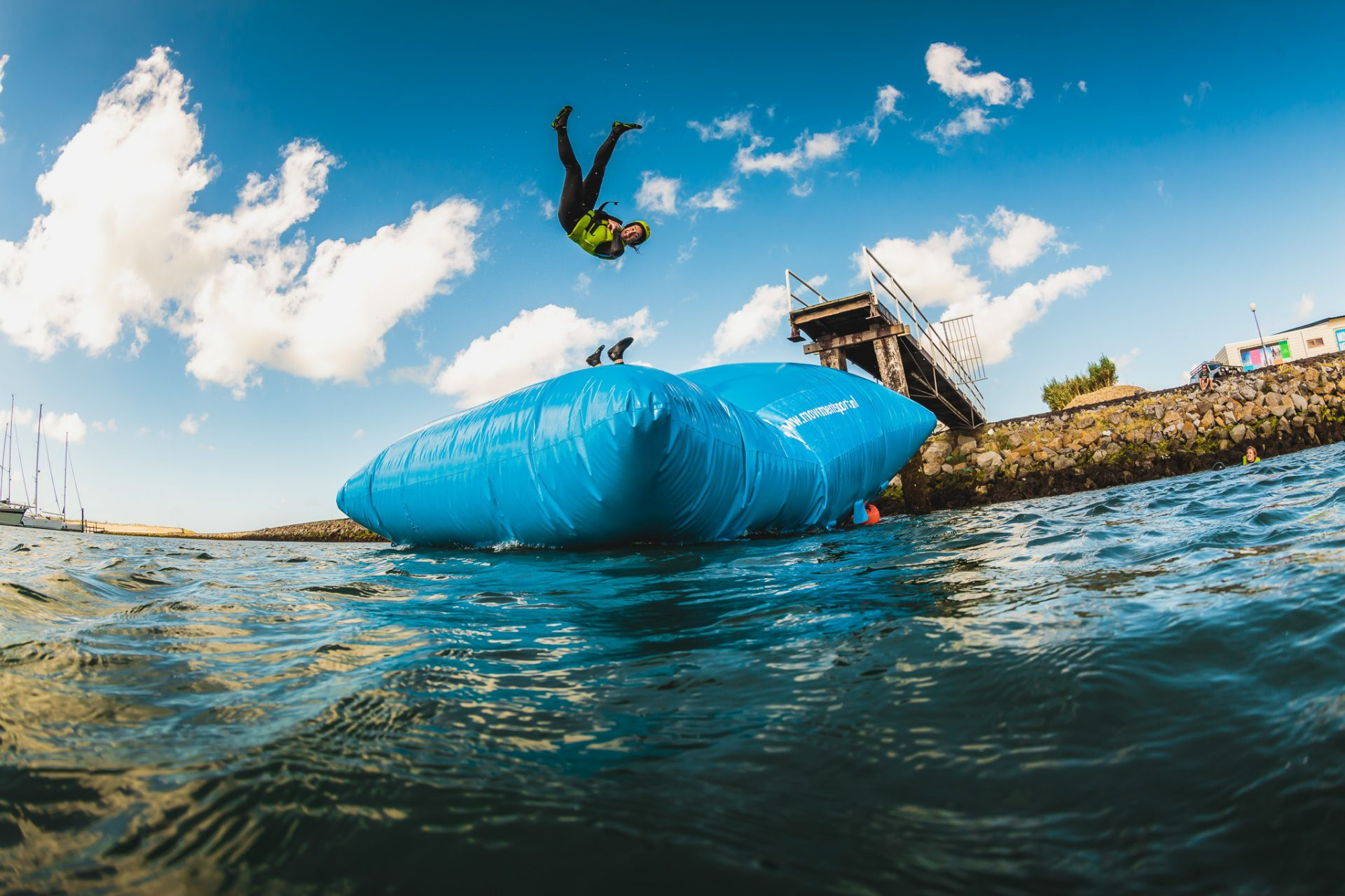 Vrijgezellenfeest Zeeland waterblobben